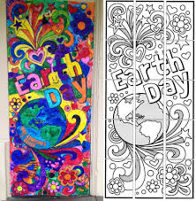 earth day collaborative mural art projects for kids