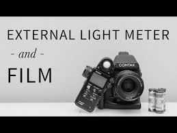 film camera light meter how to use an external light meter with film youtube photoshop