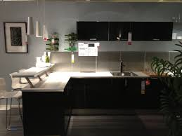 Ikea Kitchens Ideas by Ikea Kitchen With Breakfast Bar Kitchen Pinterest Breakfast