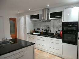 Cream Gloss Kitchen Tile Ideas by Grey Mosaic Kitchen Wall Tiles Outofhome
