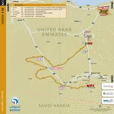 Map Of Abu Dhabi Maps Abu Dhabi Desert Challenge 2014