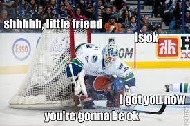 Hockey Goalie Memes - canucks oilers hockey pinterest ice hockey funny hockey and