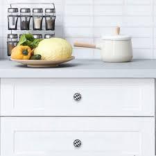 kitchen cabinet knobs black and white tizorax chequered flag black white checked drawer