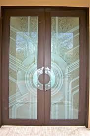 Decorative Glass Doors Interior Glass Door Pulls Sans Soucie Glass