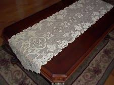 gold lace table runner oval table runners ebay