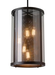 Feiss Monte Carlo Ol12014orb 5 Light Bluffton Outdoor Hanging Oil Rubbed Bronze