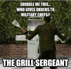 Sandwich Maker Meme - griddle me this how do you prepare a wayne sandwich you batter