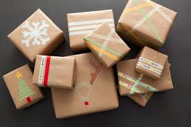 brown gift wrapping paper last minute gift wrap alert diy washi wrapping paper brit co