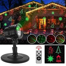 christmas laser lights automatically led landscape spotlight with