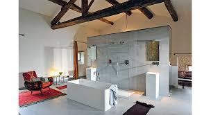 ouverte sur chambre chambre avec salle de bain ouverte et dressing kirafes