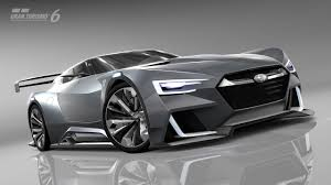 subaru viziv truck will subaru viziv vision gran turismo concept make it big