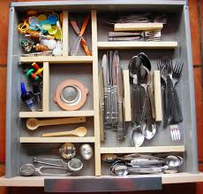 kitchen organizer silverware full kitchen drawer organizer more