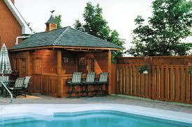Backyard Shed Bar Pool Cabanas