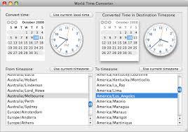 worldtimeconverter dates and timezones in cocoa