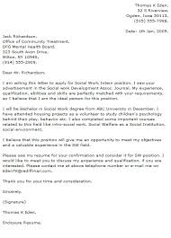 collection of solutions sample cover letter social work mental