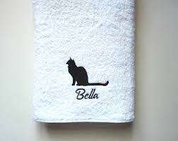personalized towels etsy