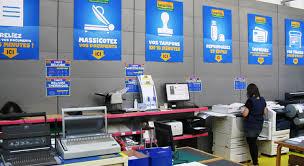 plastifieuse bureau vall bureau vallée des services des prix du conseil franchises et