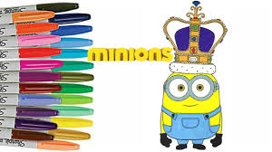 minions coloring book page despicable me colouring minions