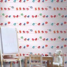 birds inspired wall decoration ideas for kids modern kids decor ideas