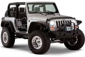 jeep wrangler unlimited flat fenders bushwacker flat style fender flares for jeep wrangler jk unlimited