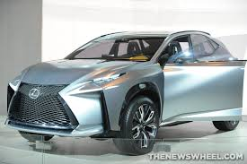 lexus nx new york auto show lexus nx compact crossover announced will have turbo powertrain