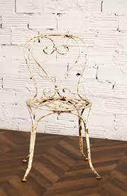 chaises en fer forgé chaise jardin chaises fer forgé ancienne vintage 1900 1920