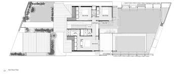 architectural floor plan gallery of castlecrag residence cplusc architectural workshop 15