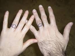 wedding ring finger tattoos designs tattoos ring