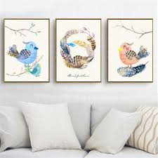 Bird Decorations For Home Compare Prices On Canvas Bird Online Shopping Buy Low Price