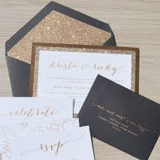 how much do wedding invitations cost affordable canada wedding invitation cost gold black envelopes