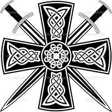 celtic cross tattoo designs crossed swords and celtic cross tattoo design photos pictures