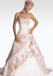 pink embroidered wedding dress pink brocade wedding gowns the wedding specialiststhe wedding