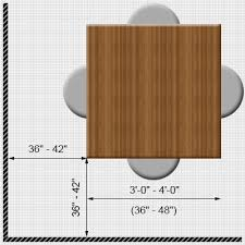 Dining Table Size For 4 Square Dining Table Measurements Dining Table Dimensions Freedom To