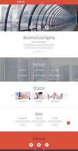free responsive corporate template