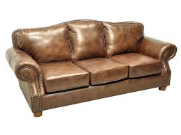 rustic sofas and loveseats 6089 60 rustic rust sofa stationary leather lacrosse furniture