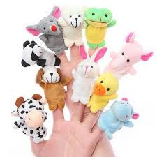 baby puppet 10pcs set animal finger puppet child and baby early