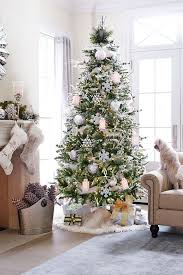 frosted christmas tree 37 awesome silver and white christmas tree decorating ideas