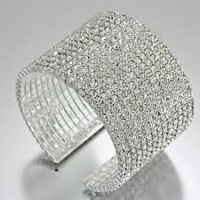 rhinestone cuff bracelet images Bracelets fashion and trendy jpg