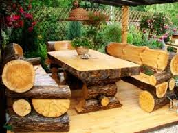 Logs Furniture And Decorative Accessories  DIY Home Decorating - Tree furniture