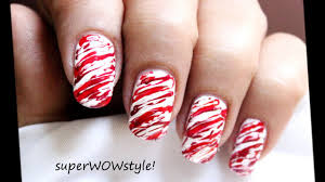 christmas candy no tools kids christmas nail art designs