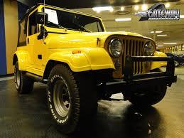 cj jeep yellow jeep cj 7 golden hawk image 141