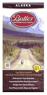 Maps Alaska by Butler Maps Alaska Revzilla
