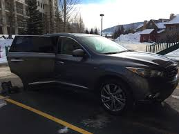 infiniti qx60 interior infiniti qx60 on snowy roads business insider
