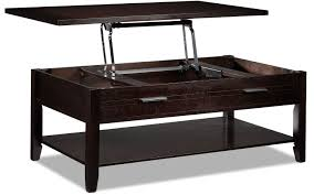 solid wood coffee table with lift top coffee tables lift top coffee table gloria espresso leon s click to