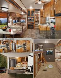 rangement arri鑽e cuisine 2013 keystone rv montana high country brochure rv literature