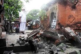 earthquake bali 2017 bali earthquake shocked holidaymakers some temple s