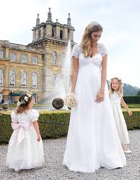 maternity wedding gowns ivory silk lace maternity wedding gown seraphine