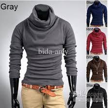 mens casual slim fit dress shirts t shirt tee tops 3 size best