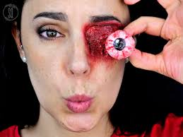 special effects makeup eye pop out special effects makeup for quirós