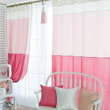 pink girl curtains bedroom bedroom elegant sweet pink cotton and fiber curtains for girls buy